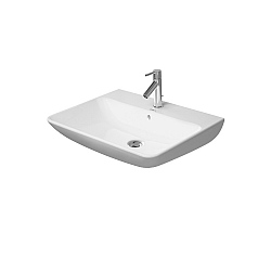 Duravit ME by Starck Washbasin 650mm Satin Matt White