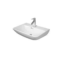 Duravit ME by Starck Compact Washbasin 600mm Satin Matt White