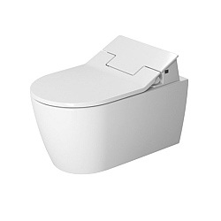 Duravit ME by Starck Wall-Mounted Rimless Pan For SensoWash