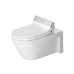 Duravit Starck 2 Wall-Mounted Pan For SensoWash