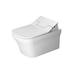 Duravit P3 Comforts Wall-Mounted Rimless Pan For SensoWash
