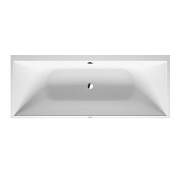 Duravit DuraSquare Corner Bath With Seamless Panel - Left Handed