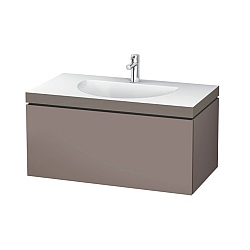 Duravit L Cube C Bonded Wall Mounted Drawer Vanity Unit 1000mm Bathroom Vanity Units Cp Hart