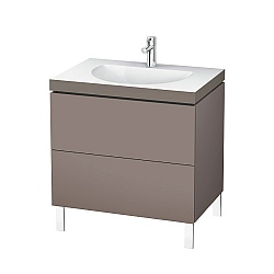 Duravit L Cube C-Bonded Freestanding 2-Drawer Vanity Unit 800mm