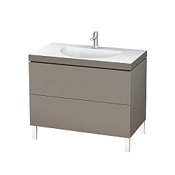 Duravit L Cube C-Bonded Freestanding 2-Drawer Vanity Unit 1000mm