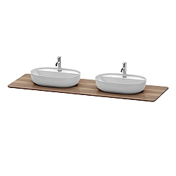 Duravit Luv Wooden Console Top 1783mm For 2 Washbowls