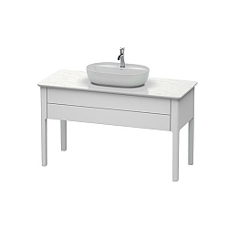 Duravit Luv Freestanding 1-Drawer Vanity Unit 1338mm