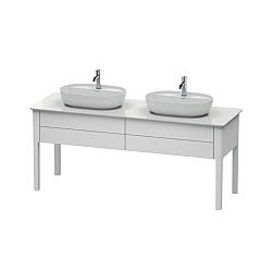 Duravit Luv Freestanding 2-Drawer Vanity Unit 1733mm for 2 Washbowls