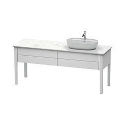 Duravit Luv Freestanding 2-Drawer Vanity Unit 1733mm for 1 Washbowl