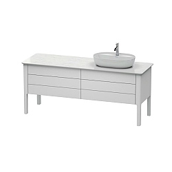 Duravit Luv Freestanding 4-Drawer Vanity Unit 1733mm for 1 Washbowl