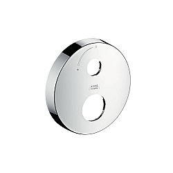 AXOR Extension Escutcheon Round Two Hole With Arrow