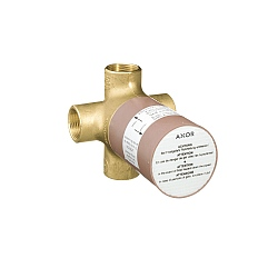 AXOR Basic Set For Quattro 3-Way Diverter Valve