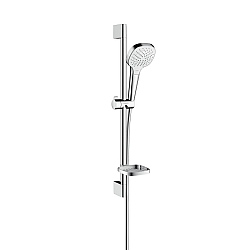 hansgrohe Croma Select E Vario Shower Set With Casetta