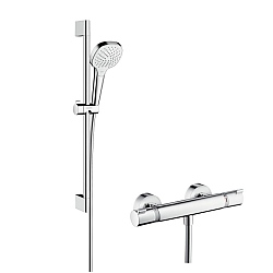 hansgrohe Croma Select E Vario Combi Shower Set